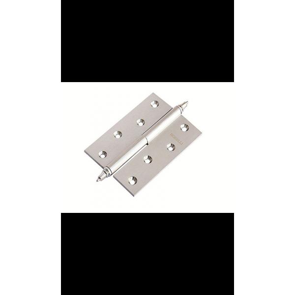 Петля латунная разъёмная с короной MB 100X70X3 SC R C