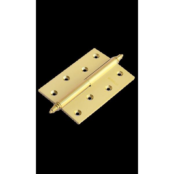 Петля латунная разъёмная с короной MB 100X70X3 SG L C