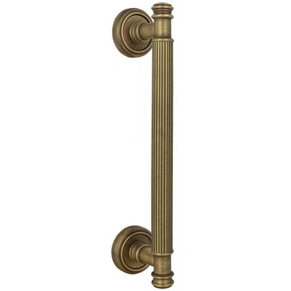 Дверная ручка скоба Extreza Benito S (Бенито) R01 матовая бронза F03