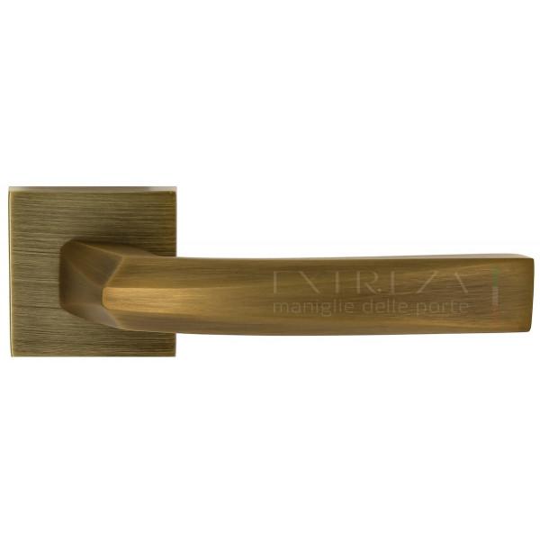 Дверная ручка Extreza Hi-Tech Elio (Элио) 109 R11 матовая бронза F03