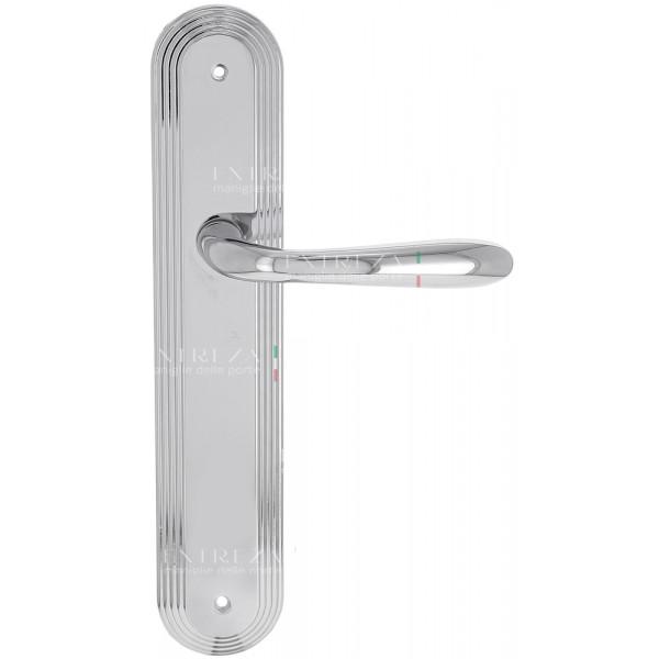 """Дверная ручка Extreza """"ALDO"""" (Альдо) 331 на планке PL05 полированный хром F04"""